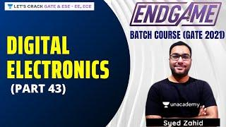 Digital Electronics (Part 43) | Digital Electronics | END GAME Batch Course For GATE/ESE 2021
