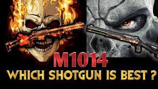 Which m1014 shotgun is best? underground howl shotgun vs death eye double rate of firing shotgun