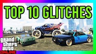 GTA 5 - TOP 10 GLITCHES!! (Secret Club Glitch, Custom Cop Car, GodMode Glitch) *ALL CONSOLES*