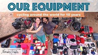What equipment we carry on our 10 year bicycle tour around the world - Full Setup Gear Review