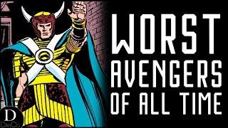 Top 10 Worst Avengers Of All Time | TOP 10