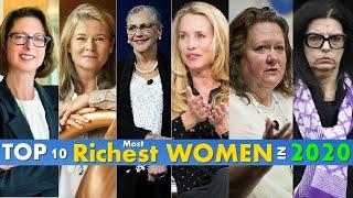 Top 10 Most Richest Women In The World 2020