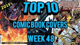 Top 10 Comic Book Covers Week 48