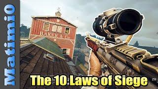 The 10 Laws of Rainbow Six Siege