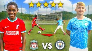 10 Year Old Kid MANE vs 10 Year Old Kid KEVIN DE BRUYNE.. AMAZING Football Competition