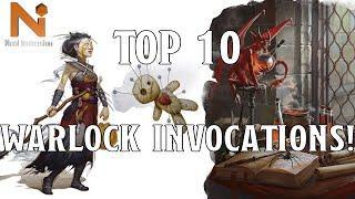 Top 10 D&D 5e Warlock Invocations! | Nerd Immersion