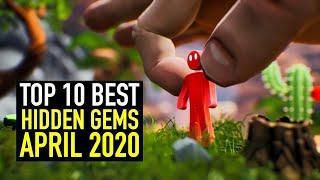 Top 10 BEST Indie Game Hidden Gems - April 2020