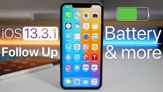 iOS 13.3.1 - Follow Up - Battery, Performance and more