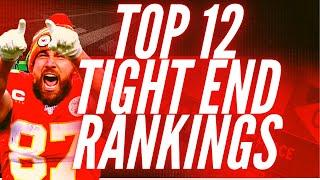 Early Top 12 Tight End Rankings - 2021 Fantasy Football
