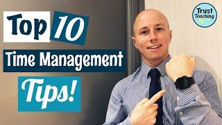 Time Management Tips for Primary School Teachers! Top 10 time saving tips and hints for teachers!
