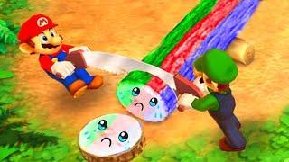 Mario Party The Top 100 MiniGames - Luigi Vs Mario Vs Rosalina Vs Peach (Master Cpu)