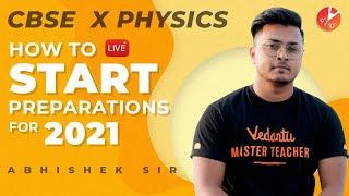 How To Start Study For Physics Class 10 CBSE 2021? How To Start a New Academic Year? Study Tips
