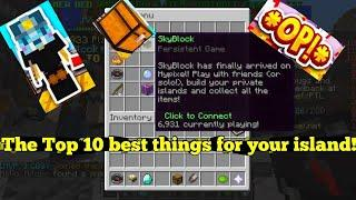 Top 10 Most Important Things You Need On Your Hypixel Skyblock Island!