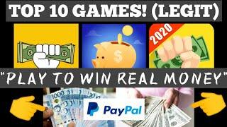 TOP 10 GAMES THAT EARN AND WIN REAL MONEY•LEGIT•(CASH PAY-OUT BY PAYPAL)