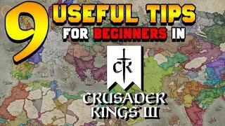 9 Useful Tips for Beginners in Crusader Kings 3 (First Time Player Tips)