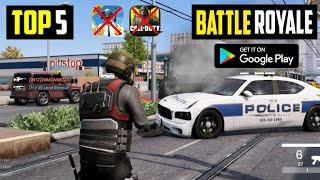 Top 5 New BATTLE ROYALE Games for Android in 2020 | High Graphics Battle Royale Games For Android