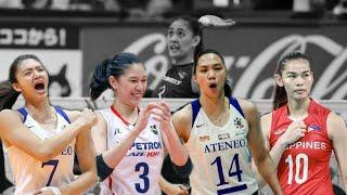 Top 10 players who 'BLOCKED' Jaja Sanatiago | Philippine Women's Volleyball