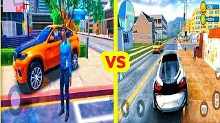 GO TO STREET 2 VS GO TO CAR DRIVING [offline open world games android] download and Gameplay