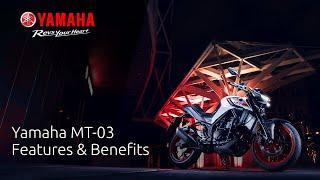 2020 Yamaha MT-03: Features & Benefits