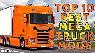 TOP 10 BEST MEGA TRUCK MODS | EURO TRUCK SIMULATOR 2 2020