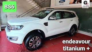2020 Ford Endeavour Titanium Plus BS6 | top model | detailed review | features | specs | price !!!