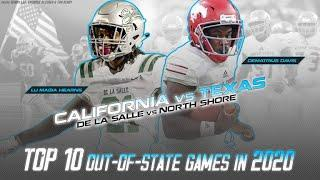 Top 10 out of state high school football games