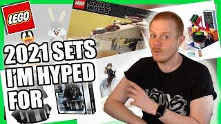 2021 TOP 10 LEGO sets that I am hyped for! (Star Wars, Marvel, Harry Potter, Ninjago, Art!)