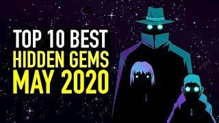 Top 10 BEST Indie Game Hidden Gems May 2020