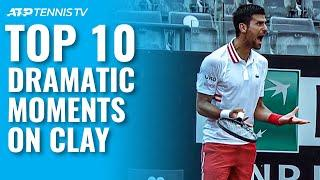 Clay Court Drama: Top 10 Dramatic Tennis Moments From The 2021 Clay Season