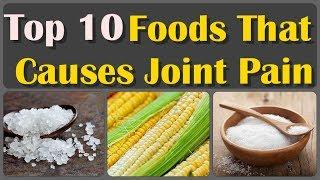 Top 10 Food That Harmful For Joint Pain and Gout, Arthritis | Pain