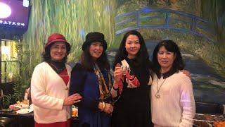 2019年温哥华阳光女人集团、伯圣集团丶海外华人直播 迎新年。part2 唱卡拉OK有众美女伴舞
