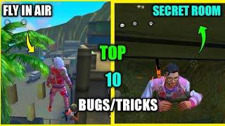 Top 10 New Latest Bugs/Glitches And Tricks In Free Fire | New Secret Room In Free Fire