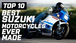 Top 10 Best Suzuki Motorcycles Ever Made   Visordown.com