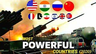 Top 10 Nuclear Most Powerful Countries | Most Powerful Countries In The World 2020