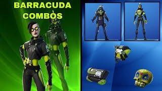 BEST BARRACUDA COMBOS IN FORTNITE | Barracuda Outfit Overview & Combos