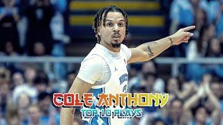 Cole Anthony Top 10 Plays from 2019-2020 NCAA Season