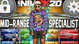THE MID-RANGE SPECIALIST BUILD AT THE PG POSITION! NBA 2K20 BEST MID-RANGE SPECIALIST | HOW TO