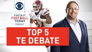 Top 5 TIGHT END DEBATES: Unveiling 2020 rankings | Fantasy Football Today