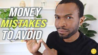 5 TOP MONEY MISTAKES To AVOID In Your 20s, 30s (& adulting)