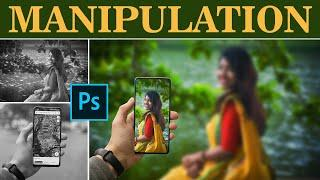 Take a Selfie Effect in Photoshop || Image Editing & Manipulation in Photoshop CC 2020 || RED PIXELS