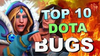 TOP 10 Dota 2 BUGS and TRICKS OF ALL TIME! 3