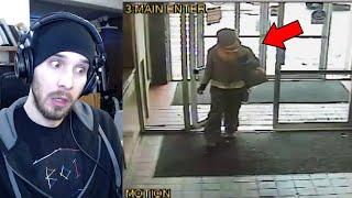 5 Unsolved Mysteries Caught On Camera By CCTV Reaction!