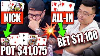PAINFUL Decision in DRAMATIC High Stakes Poker Hand ♠ Live at the Bike!