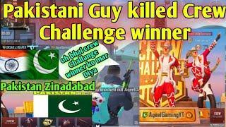 This Pakistani Guy killed Crew Challenge Winner | Pakistani Talent | Pakistan Zinadabad