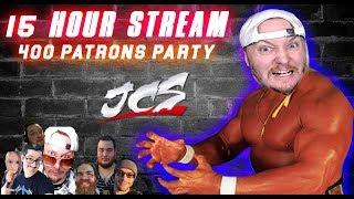 15 Hour Stream - JOE CRONIN - CORRUPTED Podcast - 400 patron Party