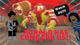 RONALD MCDONALD, IS THAT YOU??!! | ROBLOX