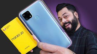 realme Narzo 20 Unboxing And First Impressions ⚡⚡⚡ MTK Helio G85