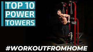 Top 10: Best Workout Power Towers for 2020 / Best Home Gym Fitness Equipment #WorkoutFromHome