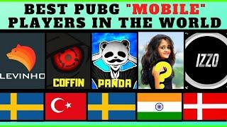 Top 10 Best PUBG Mobile Players In The World