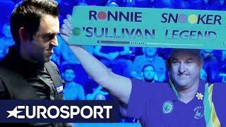 O'Sullivan Historic 1000th Century! | Snooker | Eurosport